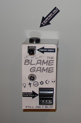 Lets not play The Blame Game!