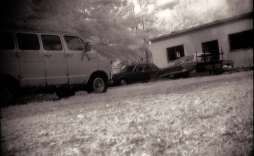 David's van in infrared