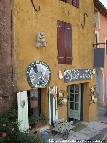 Aldeia de Roussillon, Provence, França