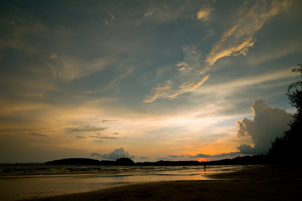 Sunset Over Ao Nang