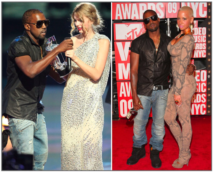 Kanye West Hijacks Taylor Swift