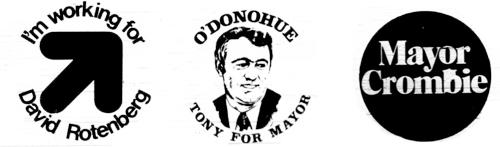 1972 Mayoral Logos