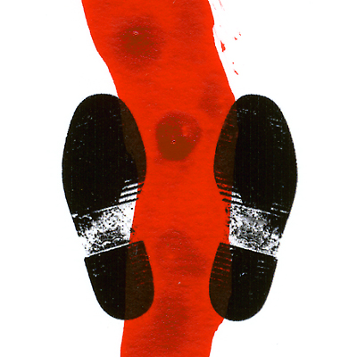 Shoe prints with red path_detail_ToAoL