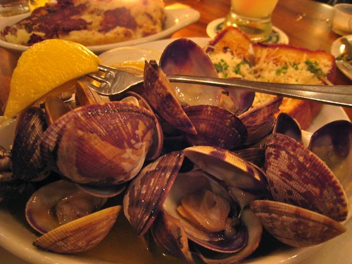 And a side of steamed clams