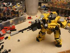 DSCF8849 (+DemonHunter+) Tags: robot gun lego machine walker weapon vehicle futuristic mech hardsuit