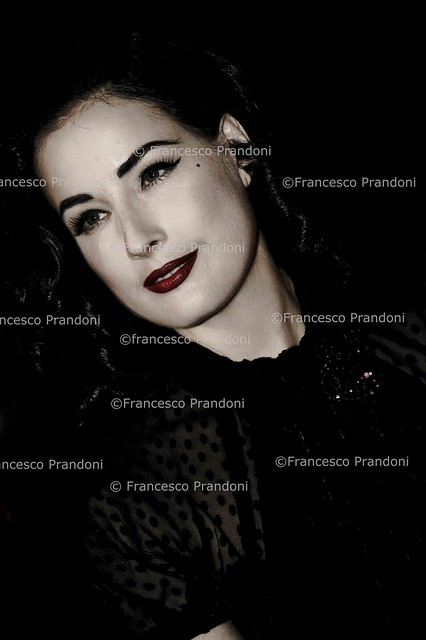 DITA VON TEESE by francesco prandoni