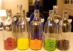 The assembled Skittles vodka team