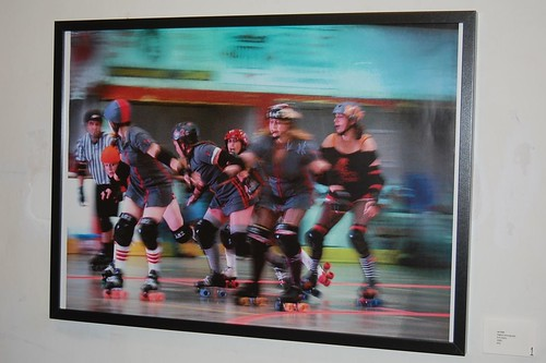 Sufferjets Roller Derby Team, Art Show