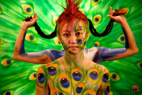 First Friday Body Painting Pictures