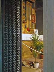 Santuario di Macereto - Visso (Mc) (Babj) Tags: church gate chiesa sanctuary marche cancello cappella chaple visso santuariomacereto