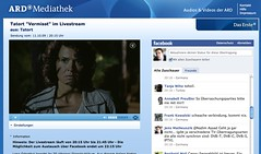 Tatort: Livestream (und Chat)