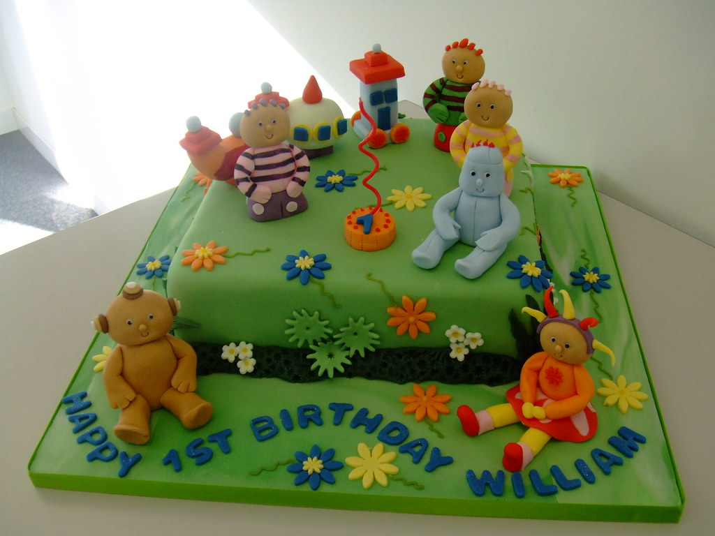 in the night garden cake chester tags birthday boy party baby green girl