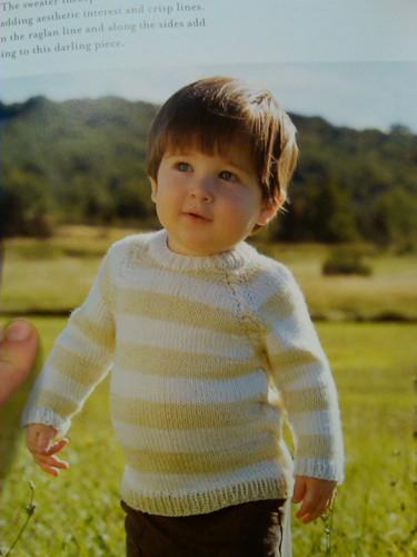Boys raglan from pure knits