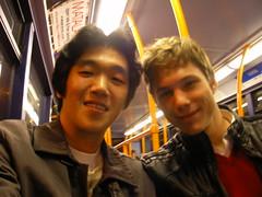 Jakub과 버스에서
