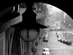 the lamp (Daniel*1977) Tags: life city bridge urban blackandwhite bw white mist black film monochrome face fog night contrast plane town still haze focus walks day pattern dof zoom geometry daniel under pass shapes samsung poland wb surface figure area pro warsaw civic around form shape 1977 citizen 1000 vapor enlarge configuration municipal magnify 815 proximity acreage weft urbanspace pro815 superficies figuration mistiness blackwhitephotos blackeandwhite kuliski urbanshapes didmyself ccbync daniel1977 wb1000 gettypoland1 gettycentraleurope