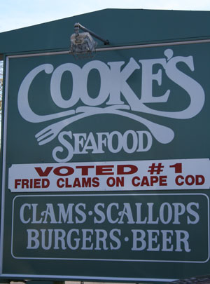 Cooke's Seafood in Orleans