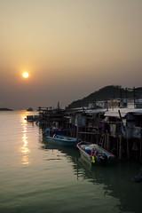 Tai O , Sunset (Joey L.) Tags: sunset canon hongkong hong kong  1224mm  signa taio  50d hongkongphoto