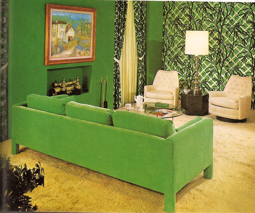 green!: How to Decorate Without Going Broke (Woman Alive, 1974)