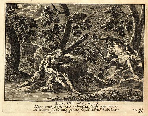 019-Vergilius Maro, Publius- Erneuertes Gedächtnüs Römischer Tapferkeit….1688-©Bayerische Staatsbibliothek