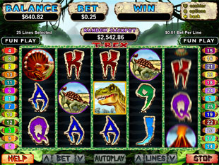 T-Rex slot game online review