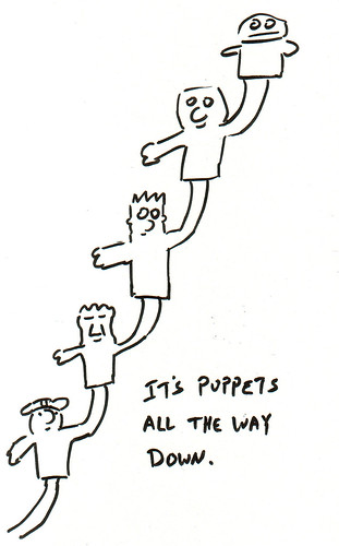 366 Cartoons - 279 - It's Puppets All the Way Down