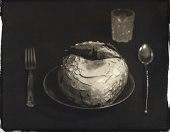 They weren't sure they should join us for dinner. (efo) Tags: stilllife mushroom dinner 4x5 placesetting largeformat puffball graflex altprocess alternativeprocesses platinumprint palladiotype palladiumprint veritodiffusedfocus efo:site=4