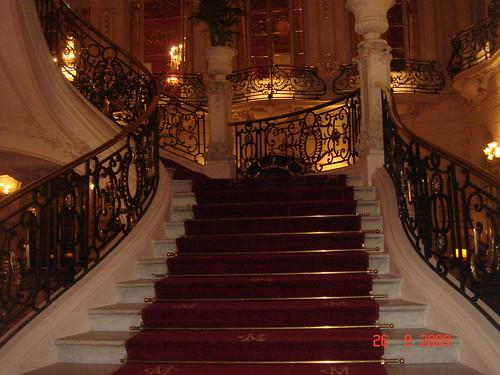 Escaleras de la entrada al Casino