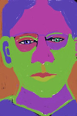 Guess I'm a Saturated Kinda Gal: 2009.11.12 (Julia L. Kay) Tags: sanfrancisco pink portrait brown selfportrait green art face mobile digital self sketch saturated san francisco colorful artist purple julia drawing kunst autoretrato kay daily zeus portraiture expressionism 365 draw everyday iphone expressionistic iart expressionismus isketch idraw ipodtouch iphoneart juliakay zeusdrawmobile julialkay unrealisticcolor zeusdrawmobileapp