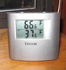 Temperature at 11 a.m.