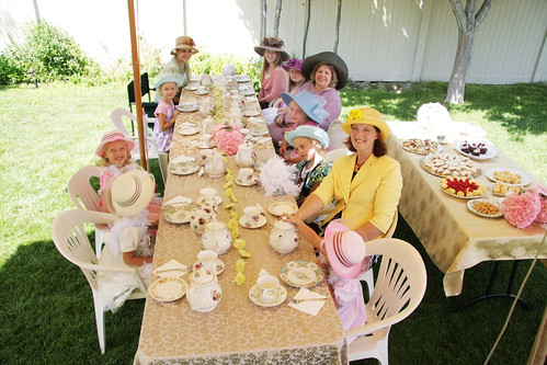 Dress Up Tea Party