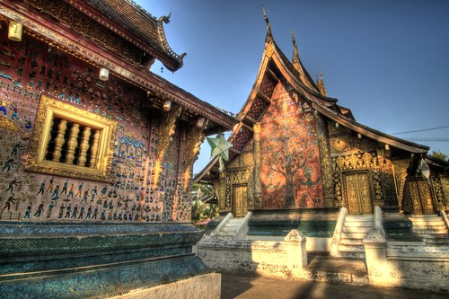 The Grounds of Wat Xieng Toung