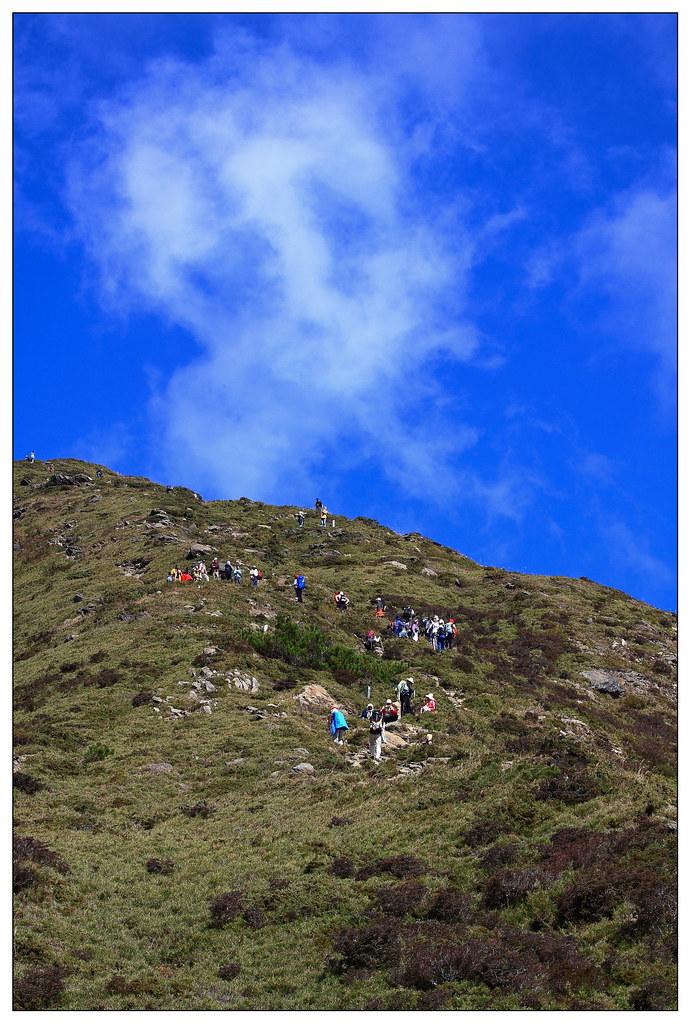 登山客的腳步
