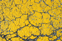 Cracked Yellow Asphalt (GrungeTextures) Tags: street texture tarmac yellow peeling paint pattern close pavement background character painted surface