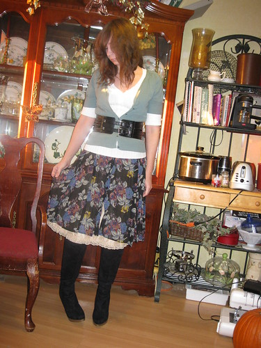 Dress into Skirt