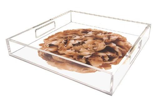 floralartla peony sepia tray