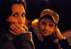 Distrazione (Valentina * Scattidigioia.com *) Tags: portrait people night eyes looking persone occhi ritratto notte sicilia vittoria guardare
