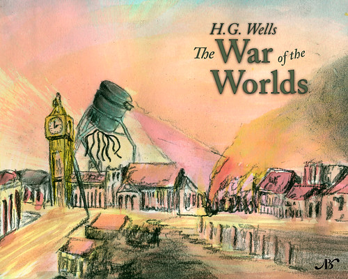 the war of the worlds book cover. War of the Worlds Cover Design