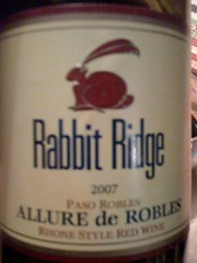 2007 Rabbit Ridge Allure de Robles