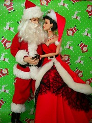 The  Magic  of  Christmas (napudollworld) Tags: santa christmas new fashion happy mr year barbie merry claus mrs royalty