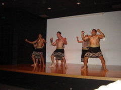 Haka presented in Auckland War Memorial Museum