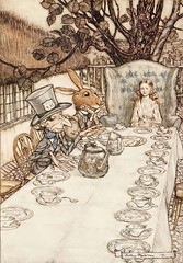 Alice in Wonderland by Arthur Rackham (sofi01) Tags: aliceinwonderland arthurrackham