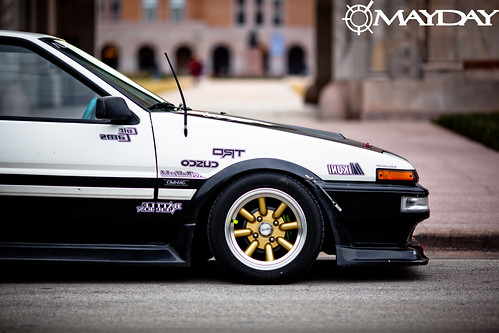 Even at a standstill, this AE86 begs to be driven.
