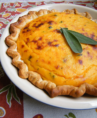 Tarta de Zapallo | Roasted Butternut Squash Tart by katiemetz, on Flickr