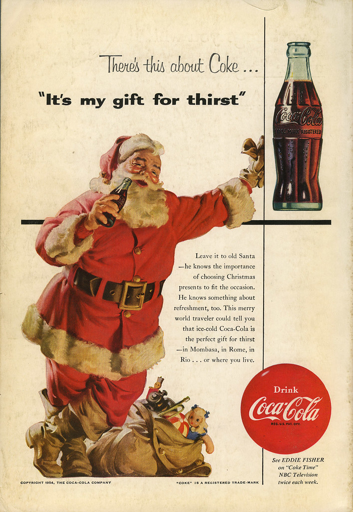 Coca Cola ad_Dec 1954_tatteredandlost