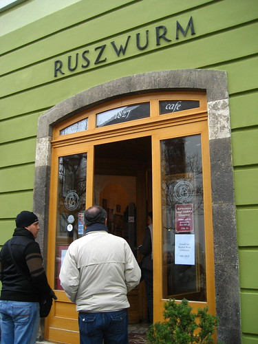 Ruszwurm Cukrászda at Castle Hill