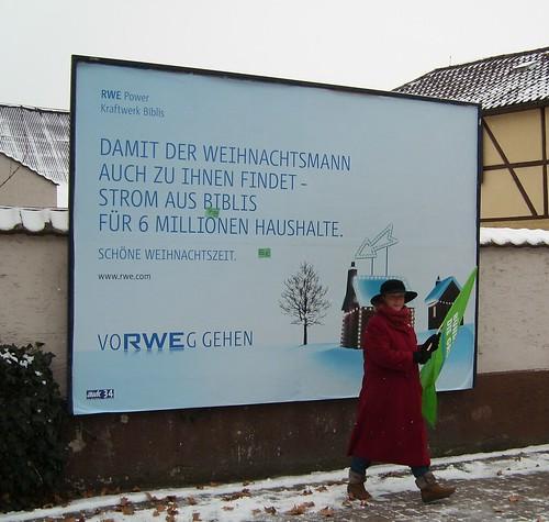 RWE redet davon aber die Grünen tun es vorweggehen!