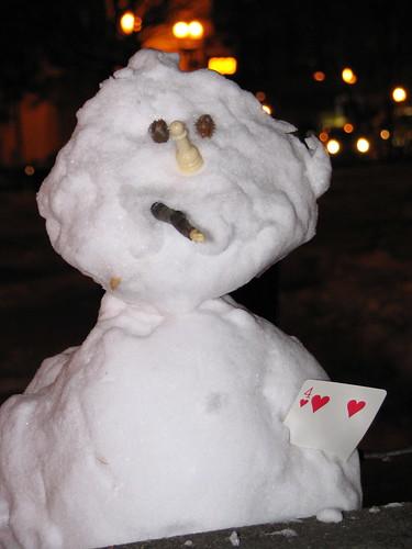 Smokin' Snowman