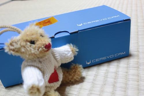 CEREVO CAM が届いたよ!