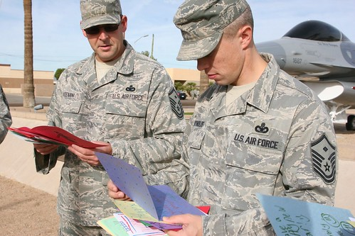 Card Delivery at Luke Air Force Base