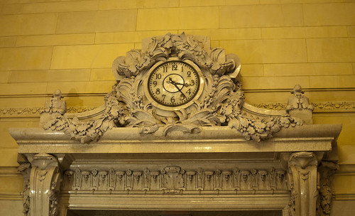 The clock in Central Station